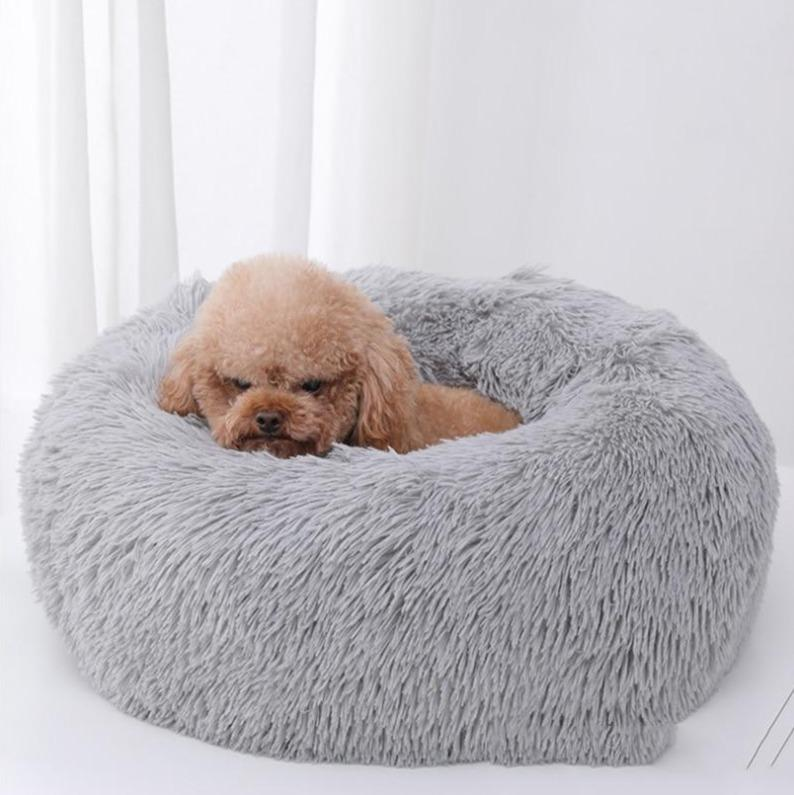 Gray Griffin Dog Bed