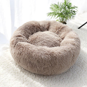 Beige Griffin Dog Bed