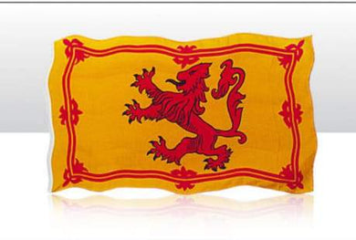 Lion Rampant Flag 5Ftx3Ft - Living Stone Gifts
