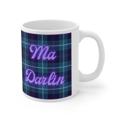 Ma Darlin Scottish Tartan 11oz Mug