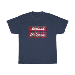 Scotlan The Brave Unisex Heavy Cotton T-Shirt