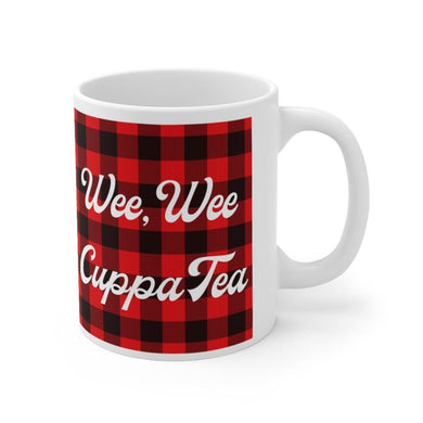 Wee Wee Cuppa Tea Scottish 11oz Mug