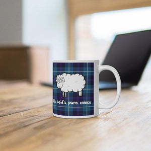 Funny Scottish Pure Mince 11oz Mug