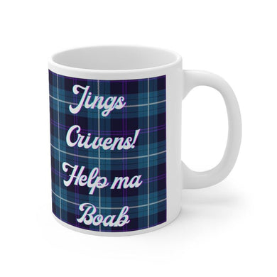 Jing Crivens Help Me Boab Scottish 11oz Mug