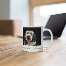 Load image into Gallery viewer, tartangifts of scotlandScottish Bearded Collie11oz Mug