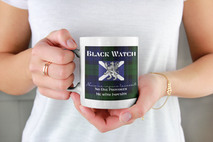 Black Watch Scottish Tartan Mug - Living Stone Gifts