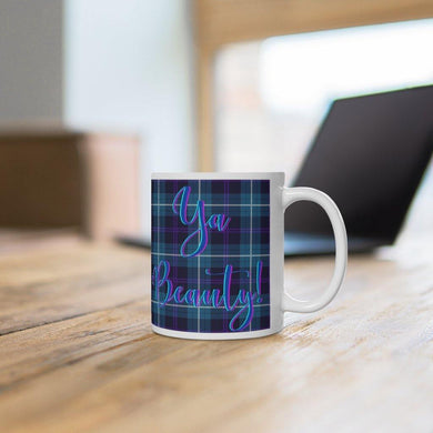 Ya Beauty Scottish Tartan 11oz Mug