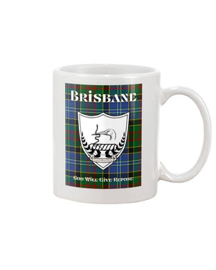 Clan Brisbane Scottish Tartan Mug