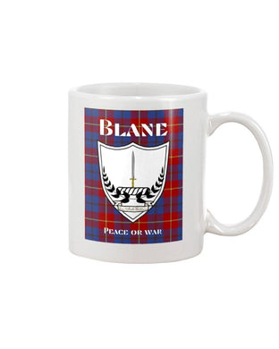 Clan Blane Scottish Tartan Mug
