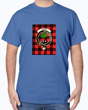 Load image into Gallery viewer, Clan Hogg Tartan & Crest T-Shirt