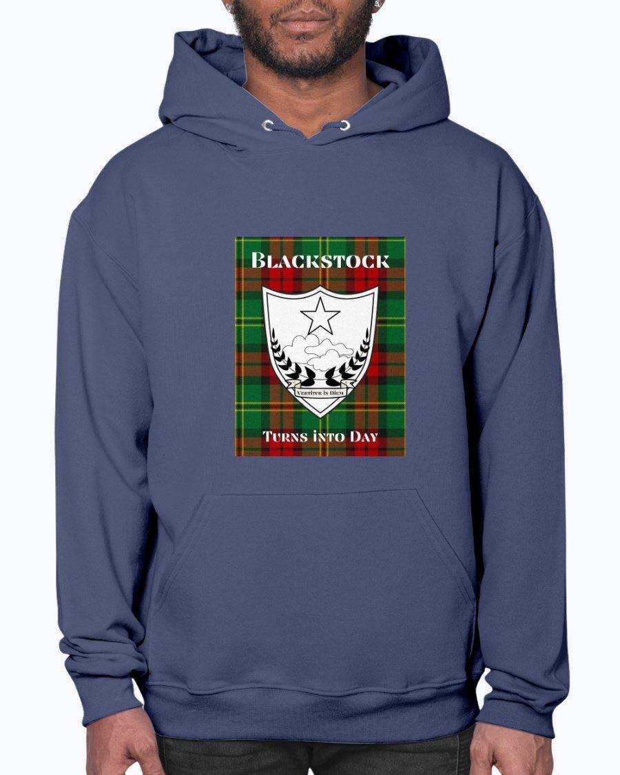 Clan Blackstock Scottish Tartan & Crest Hoodie