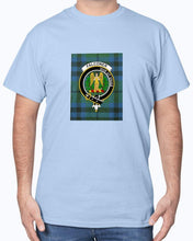 Load image into Gallery viewer, Clan Falconer Tartan & Crest T-Shirt