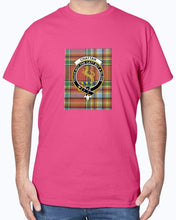 Load image into Gallery viewer, Clan Chattan Tartan & Crest T-Shirt