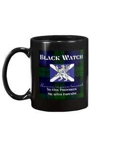 Black Watch Scottish Tartan Mug