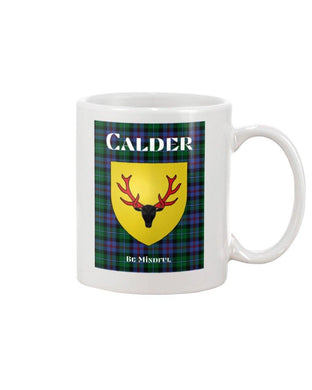 Clan Calder Scottish Tartan Mug