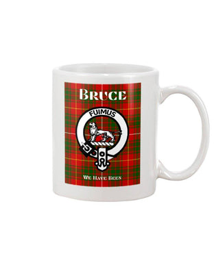 Clan Bruce Scottish Tartan Mug