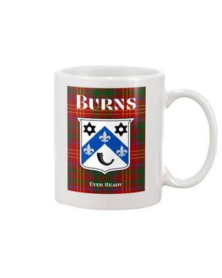 Clan Burns Scottish Tartan Mug