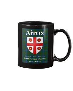 Clan Aiton Scottish Tartan Mug