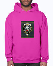 Load image into Gallery viewer, Clan Kennedy Tartan & Crest Hoodie