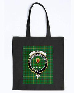 Clan Don Scottish Tartan & Crest Tote