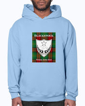 Load image into Gallery viewer, Clan Blackstock Scottish Tartan & Crest Hoodie
