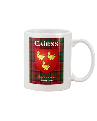 Clan Cairns Scottish Tartan Mug