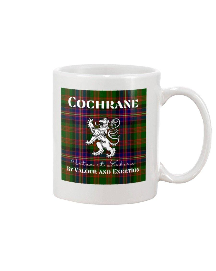 Clan Cochrane Scottish Tartan Mug