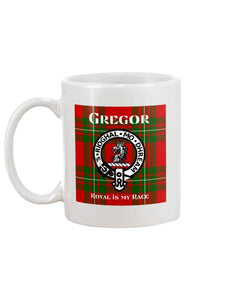 Clan Gregor Scottish Tartan Mug