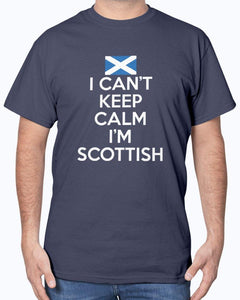 I Can't Keep Calm I'm Scottish T-Shirt