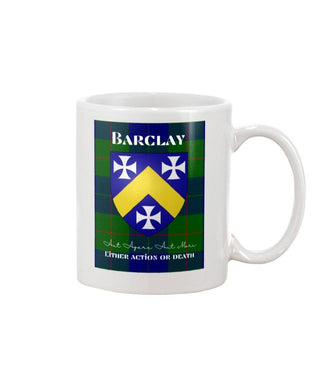 Clan Barclay Scottish Tartan Mug