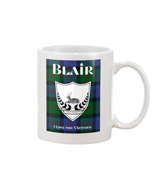 Clan Blair Scottish Tartan Mug