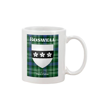 Clan Boswell Scottish Tartan Mug