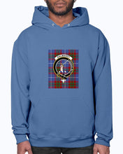 Load image into Gallery viewer, Clan Dalmahoy Tartan & Crest Hoodie