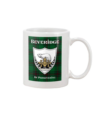 Clan Beveridge Scottish Tartan Mug