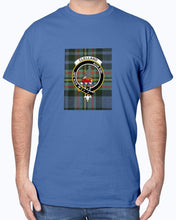 Load image into Gallery viewer, Clan Clelland Tartan & Crest T-Shirt