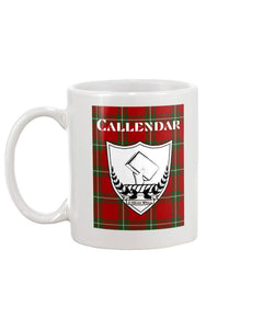 Clan Callendar Scottish Tartan Mug