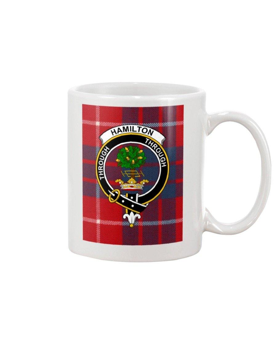 Clan Hamilton Scottish Tartan Mug