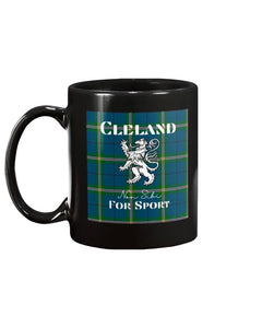 Clan Cleland Scottish Tartan Mug