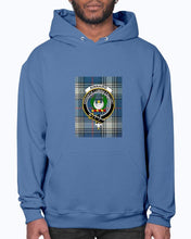 Load image into Gallery viewer, Clan Kinnaird Tartan & Crest Hoodie