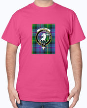 Load image into Gallery viewer, Clan Colville Tartan & Crest T-Shirt