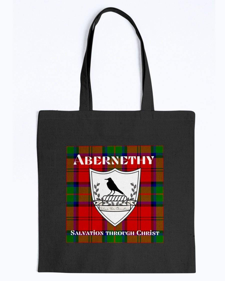Clan Abernethy Scottish Tartan & Crest Tote