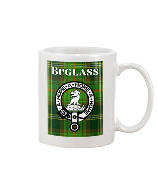 Clan Buglass Scottish Tartan Mug