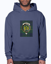 Load image into Gallery viewer, Clan Johnstone Tartan & Crest Hoodie