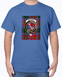 Clan Hopkirk Scottish Tartan & Crest T-Shirt