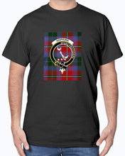 Load image into Gallery viewer, Clan Hopkirk Scottish Tartan & Crest T-Shirt