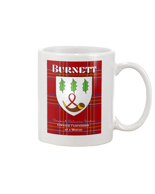 Clan Burnett Scottish Tartan Mug