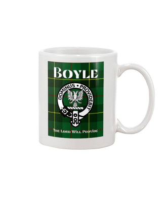 Clan Boyle Scottish Tartan Mug