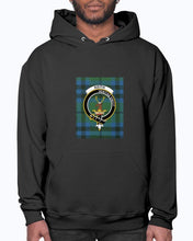 Load image into Gallery viewer, Clan Keith Tartan & Crest Hoodie
