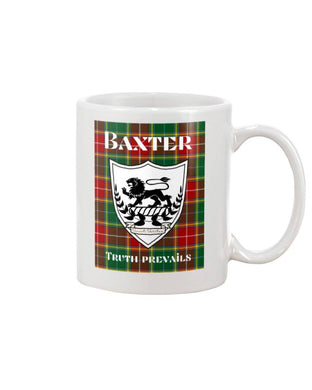 Clan Baxter Scottish Tartan Mug
