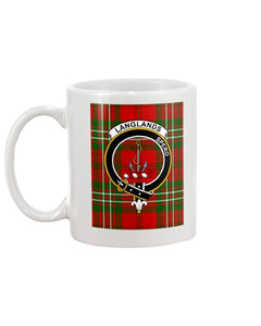 Clan Langlands Scottish Tartan Mug